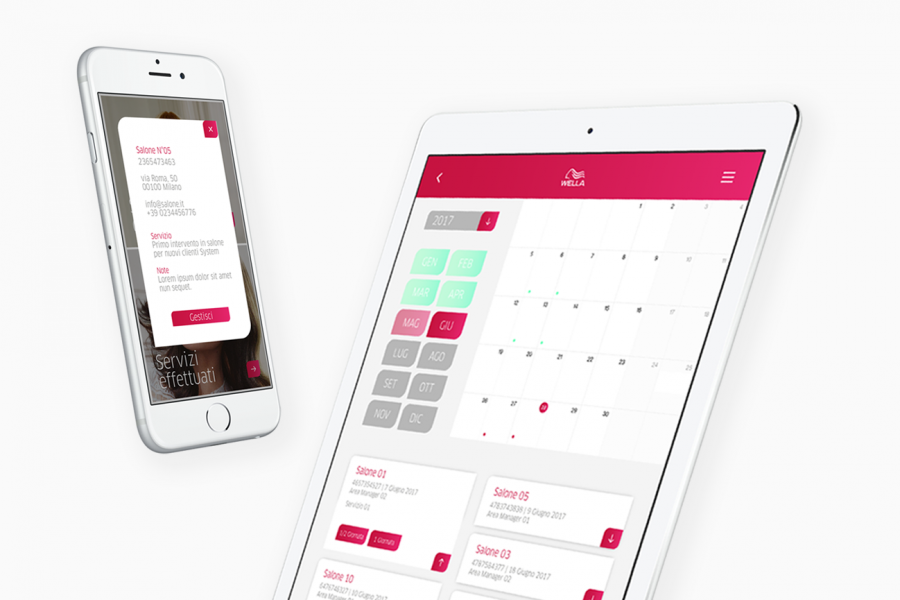 WELLA AREA MANAGER APP